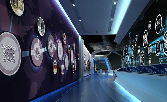 展厅设计公司怎样容易解决所有设计过程中遇到的问题
