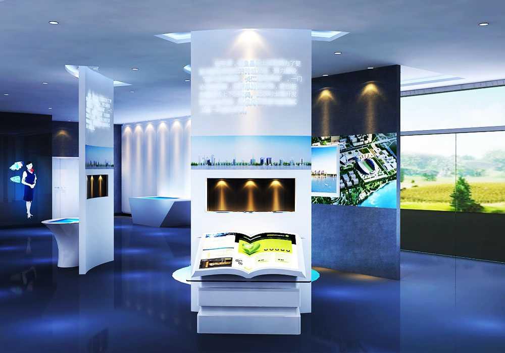 展厅创意互动和展厅空间总体设计技巧